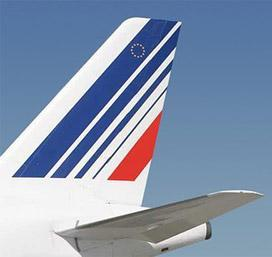 Le logo des dérives Air France